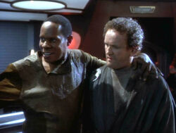 Sisko and smiley