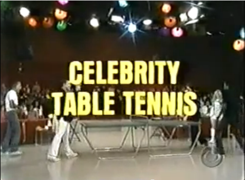 Celebrity Table Tennis | Game Shows Wiki | FANDOM powered ...