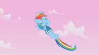 Rainbow Dash, we melt the white snow S1E11