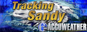WPVI-TV's Channel 6 Action News' Accu-Weather, Tracking Sandy Video Open From Late October 2012