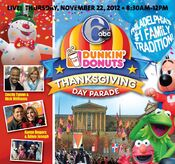 WPVI-TV's The 6 ABC Dunkin' Donuts Thanksgiving Day Parade's Philadelphia's -1 Family Tradition! Video Promo For Thursday Morning, November 22, 2012