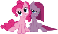 Pinkie and Pinkamena