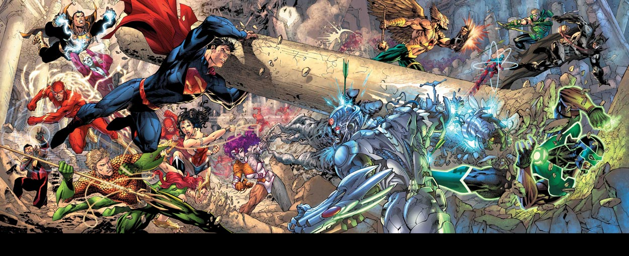 Green Arrow vs Hawkman vs Batman vs Atom vs Simon Baz (Green Lantern ...