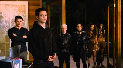 "Breaking Dawn Part 2 Movie Clip ""Who's With Me?"" Official HD - Robert Pattinson"