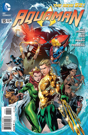 Cover for Aquaman #13