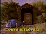 Toby&#39;sDiscoveryoriginalUStitlecard