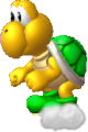 Giant Green Koopa NSMBU Sprite