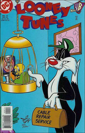 Cover for Looney Tunes #59