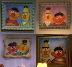 BertAndErniePainting