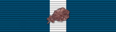 Medal, Twelve Month Good Conduct with Oak Leaf