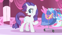 Rarity surprised at being unheard of S01E20