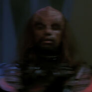 Klingon high council member 7, 2366