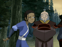 Katara and Iroh
