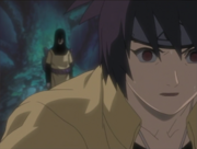Anko encounters Orochimaru