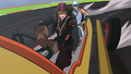 Asami and Korra racing.png