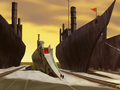 Zuko&#039;s ship at the Earth Kingdom harbor.png