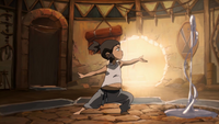 Young Korra waterbending