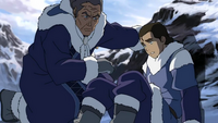 Yakone and young Tarrlok