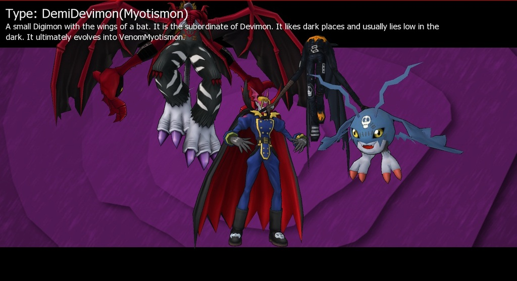 Demidevimon Evolution Line DemiDevimon - Digimon ...