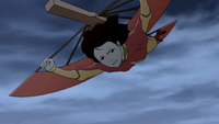 Jinora on glider