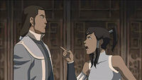 Korra and Tarrlok