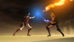 Korra and the Lieutenant