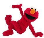 Elmo pose sit
