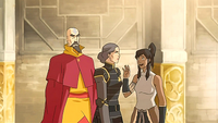 Lin ignores Korra