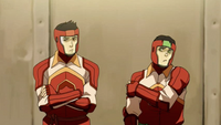Mako and Bolin apologizing