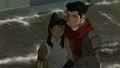 Mako holding Korra.png