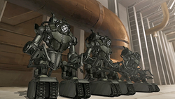 Mecha tanks