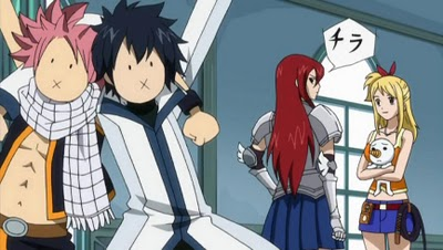 Fairy Tail [SPOILERS] When_Erza_is_looking