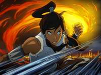 Promo of Korra bending