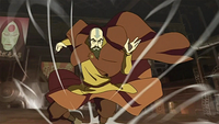 Tenzin airbending
