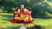 Tenzin and his children