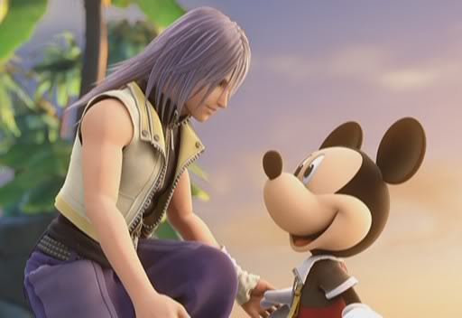 KHII Riku and Mickey