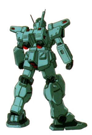 RGM-79N(GM CUSTOM) back