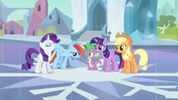 Rarity &amp; Rainbow Dash progress report S3E1