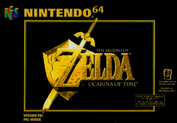 Ocarina of Time Versin Europea