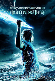 Percy Jackson &amp; the Olympians The Lightning Thief poster