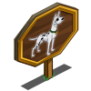 Spotted Great Dane Mastery Sign-icon