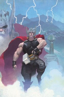 Thor God of Thunder Vol 1 1 Textless