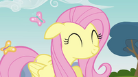 Fluttershy cute smile S3E3