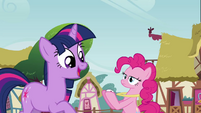 Twilight 'Oh Pinkie' S3E3