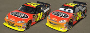 Cars Pixarizing Jeff Gordon by danyboz