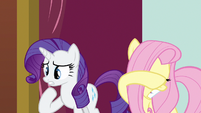 Rarity & Fluttershy not enjoying this S3E3