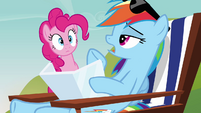 Rainbow Dash &#39;I&#39;m just gearing up to catch some Zs&#39; S3E03