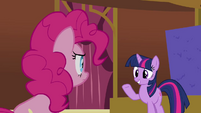 Twilight &#39;Pinkie, you can look away now&#39; S3E3