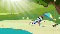 Rainbow Dash resting S3E03