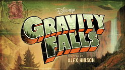 Gravity Falls - Title Card